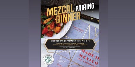 """Made In Mexico"" Chef's Table Dinner entradas"