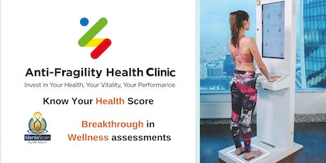 Know Your Health Score -MenlaScan Workshop 9.21 tickets