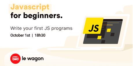 JavaScript for Beginners | Free workshop with Le Wagon Rio ingressos