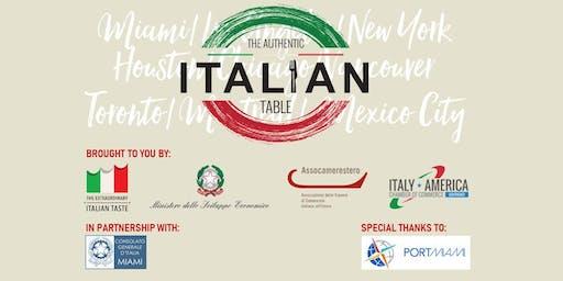 The Authentic Italian Table - Food & Wine Festival