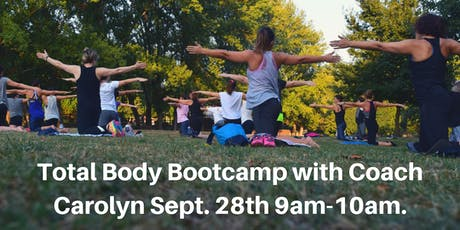 Total Body Bootcamp with Coach Carolyn tickets