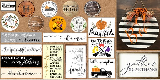 PICK YOUR PROJECT: FALL, HALLOWEEN & FAMILY