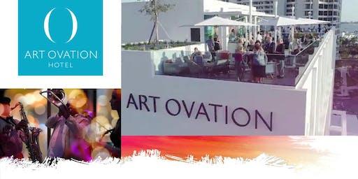 Art Ovation Hotel Exhibition Opening
