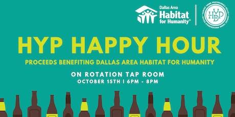 Happy Hour benefiting Dallas Habitat tickets