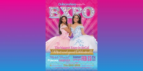 Los Angeles Quinceanera Expo Feb 23, 2020 at Pomona Fairplex tickets