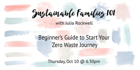 Sustainable Families 101 tickets