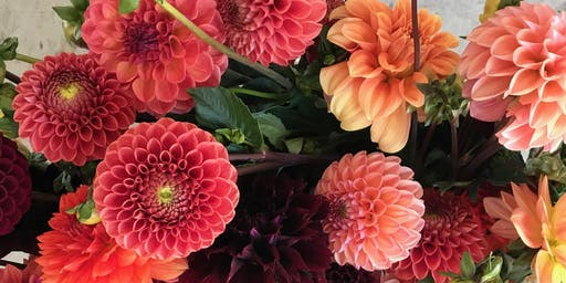 Waiheke Garden Festival Workshop:  Divine Dahlias with Christy Ralphs