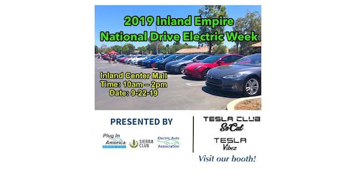 Tesla Club-SoCal at 2019 Inland Empire National Drive Electric Week  Inland
