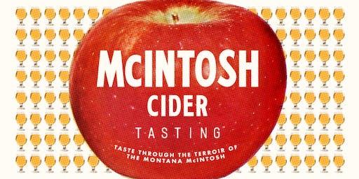 McIntosh Cider Tasting