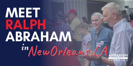 Ralph Abraham Meet and Greet Luncheon hosted by Algiers Republican Women tickets