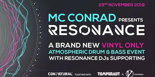 MC Conrad presents Resonance feat' P F M (2hr Set)