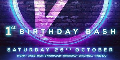 Violet Nights 1st Birthday Bash