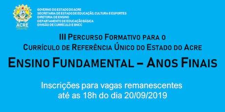 FORMAÇÃO ESPECÍFICA PARA O CURRÍCULO -  ANOS FINAI ingressos