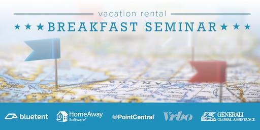 Vacation Rental Breakfast Seminar - OBX, October 2019