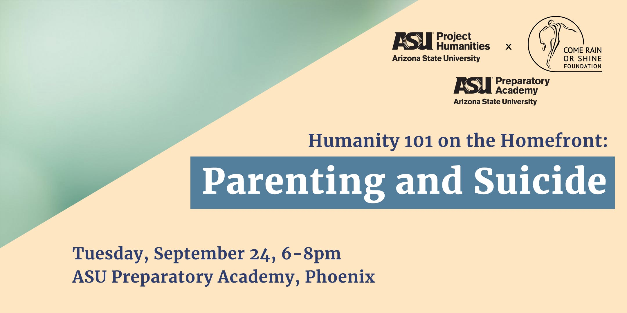 Humanity 101 on the Homefront: Parenting and Suicide