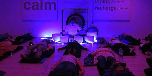 Free Full Moon Super Soul Sound Bath: Healing, Meditation