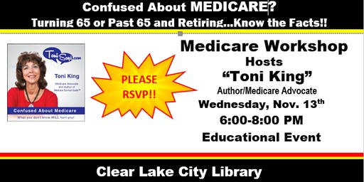 Medicare Workshop--Southeast Houston--Freeman Branch Library