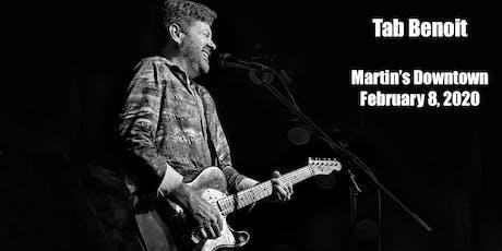 Tab Benoit Live at Martin's Downtown Jackson MS tickets