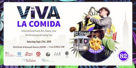 8th Annual Viva La Comida Street Festival in Jackson Heights, Queens tickets
