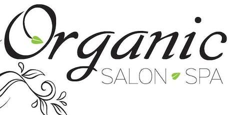 Ladies Wellness Event at Organic Salon Spa tickets