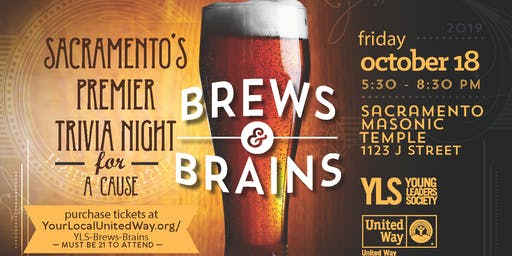SOLD-OUT: Brews & Brains