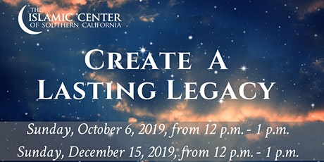 Create A Lasting Legacy tickets