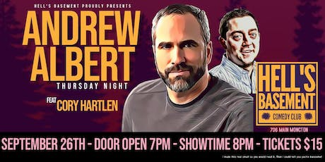 Andrew Albert - Live in Hell tickets