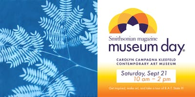 Smithsonian Museum Day - Free Art Activities at Kleefeld  Contemporary