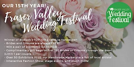 Fraser Valley Wedding Festival Spring 2020 - POSTPONED tickets