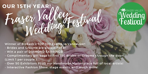 Fraser Valley Wedding Festival Spring 2020
