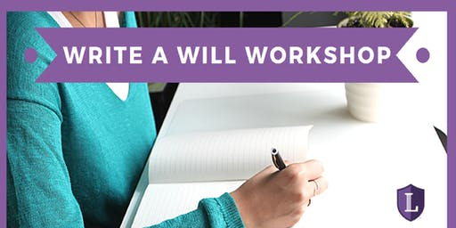 Write a Will Workshop