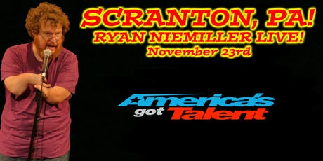 America's Got Talent Finalist Ryan Niemiller Live in Scranton, PA tickets