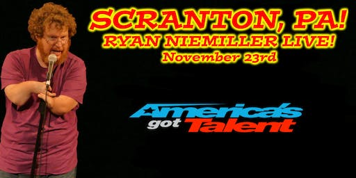 America's Got Talent Finalist Ryan Niemiller Live in Scranton, PA