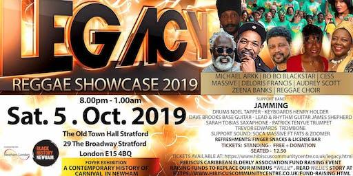 LEGACY Reggae Showcase 2019