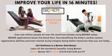 BEMER 101 - Boost Blood Flow and Improve Your Circulation! tickets