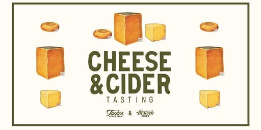 Cheese & Cider Tasting