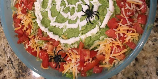 Kids' Cooking Class- Spooky Halloween Dip!