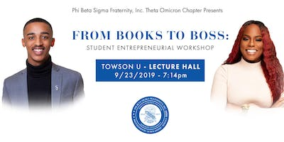 From Books to Boss: Student Entrepreneurial Workshop
