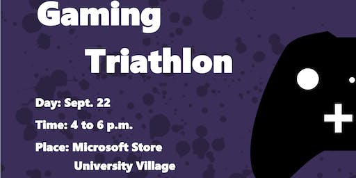 Level up in our Gaming Triathlon at Microsoft Store