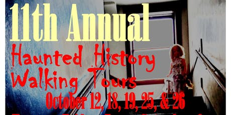 VIP Haunted History Walking Tour tickets