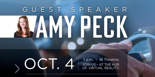 Virtual & Augmented Reality Guest Speaker: Amy Peck at Lethbridge College