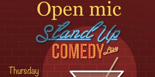 Copy of Open Mic Comedy Night @TheredGrill