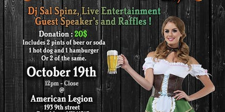 OctoberFest Fund Raiser for Veterans and Others ! tickets