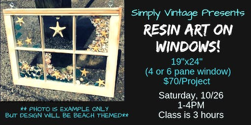 Resin Art on Windows