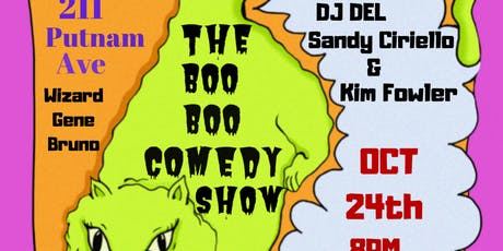 The Boo Boo Comedy Show tickets