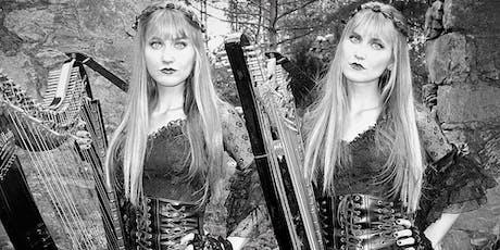 The Harp Twins Halloween Concert @ The Chapel (Bonaventure Funeral Home) tickets