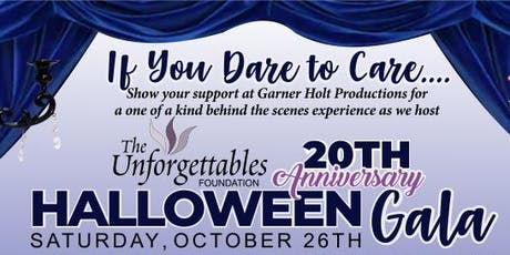 The Unforgettable's 20th Anniversary Halloween Gala tickets