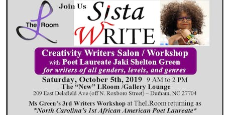 Creative Writers Salon/Workshop with Poet Laureate Jaki Shelton Green tickets