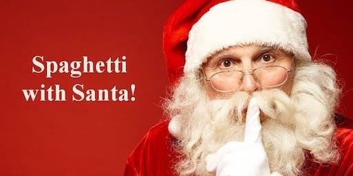 Maggiano's Spaghetti With Santa!