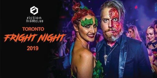 Fright Night 2019 @ Fiction Club //18+ Toronto's biggest Halloween party
